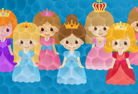 次期女王候補姫たち