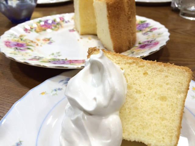 シフォンケーキ/カット