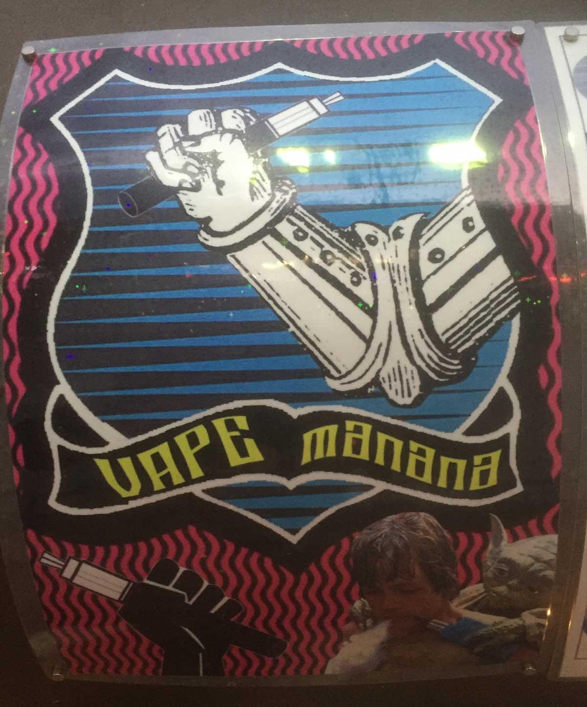 New manana vape logo