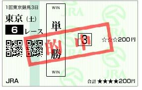 0206東京6R