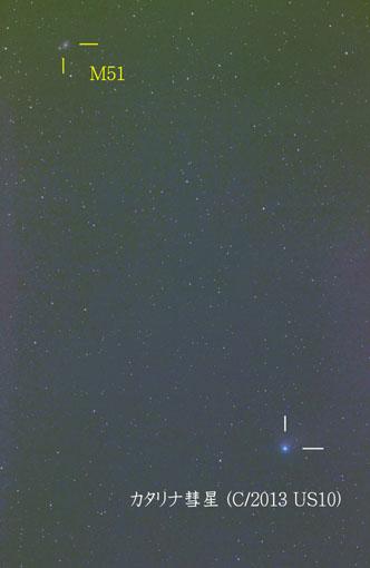 カタリナ彗星20160114-200