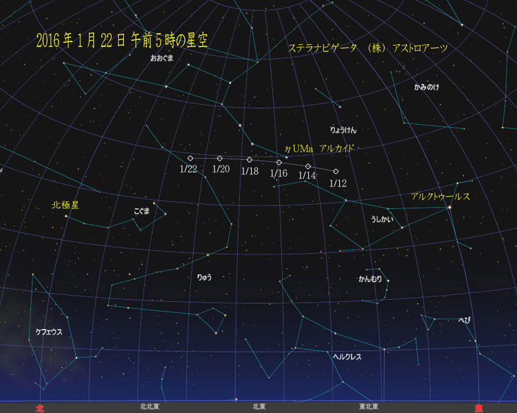 星図20160122カタリナ彗星01