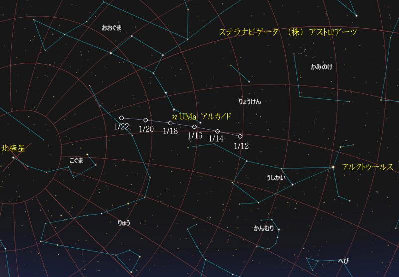 星図20160122カタリナ彗星02
