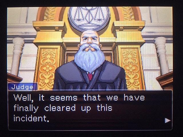 逆転裁判 北米版 僕の考えは間違っていたのか…?9
