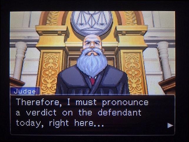 逆転裁判 北米版 僕の考えは間違っていたのか…?24