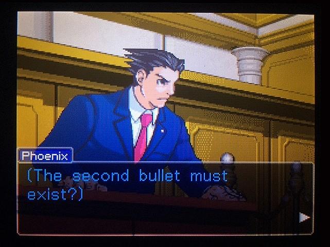 逆転裁判 北米版 The second bullet3