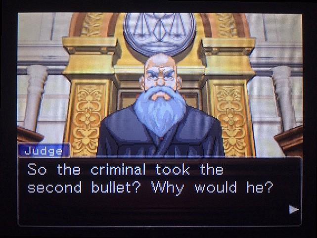 逆転裁判 北米版 The second bullet21