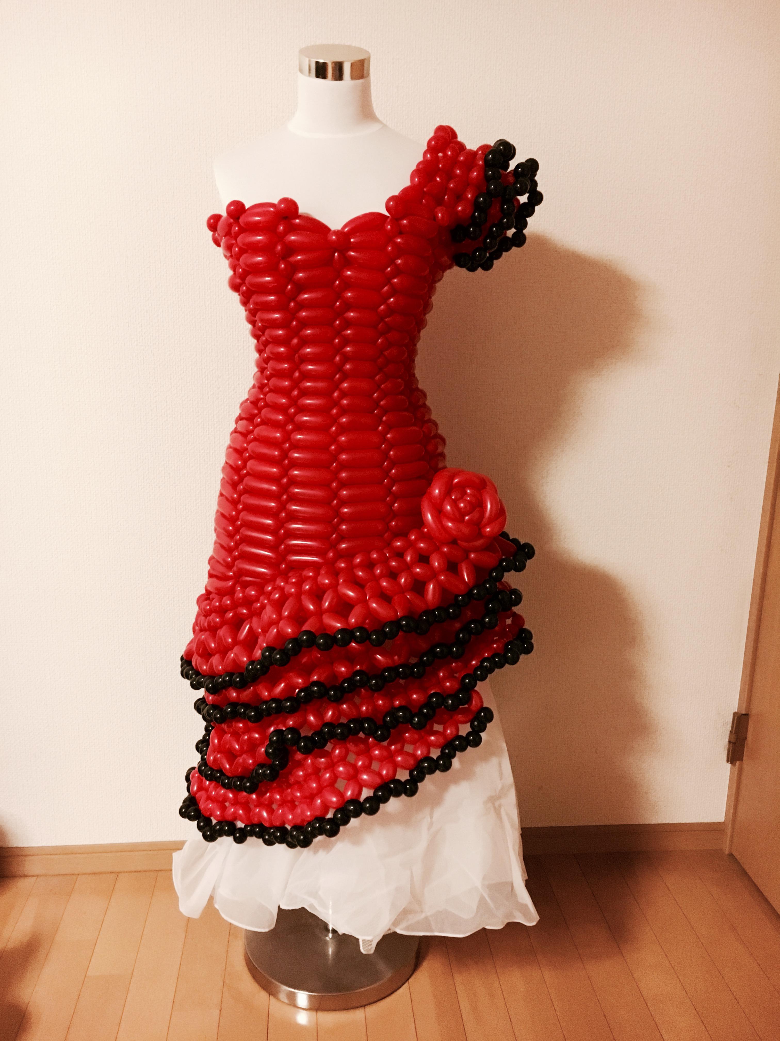 ディスプレイ用ドレス