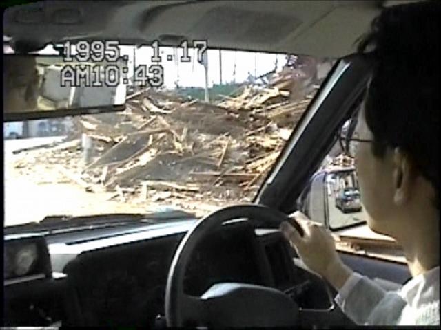 阪神大震災当日(宝塚~伊丹)