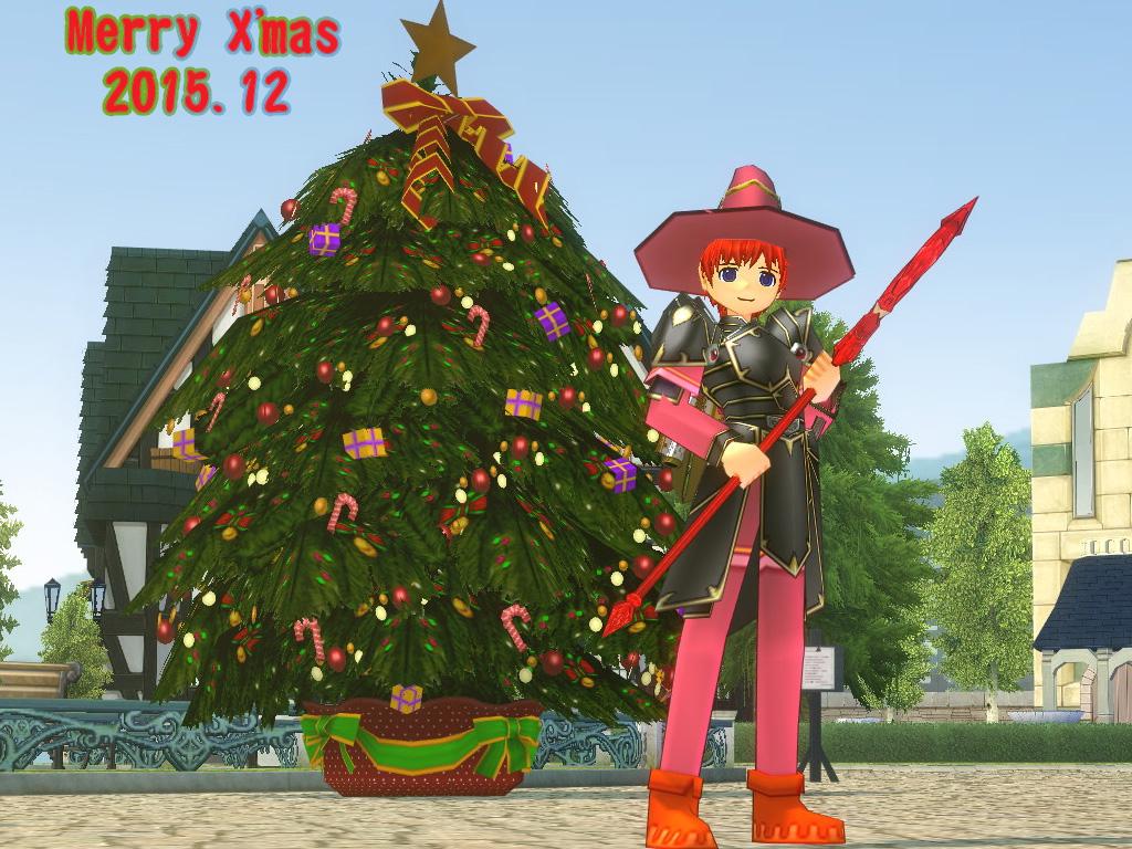 クリスマスツリー・イメンマハ