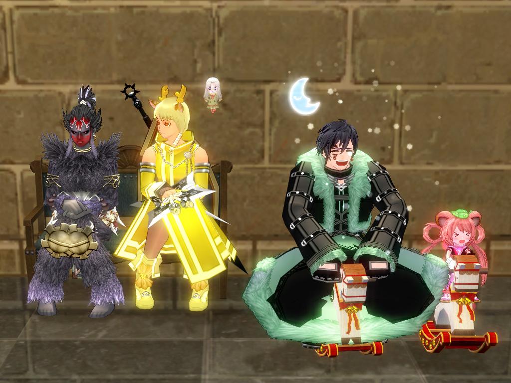 巨躯の王城パーティー1