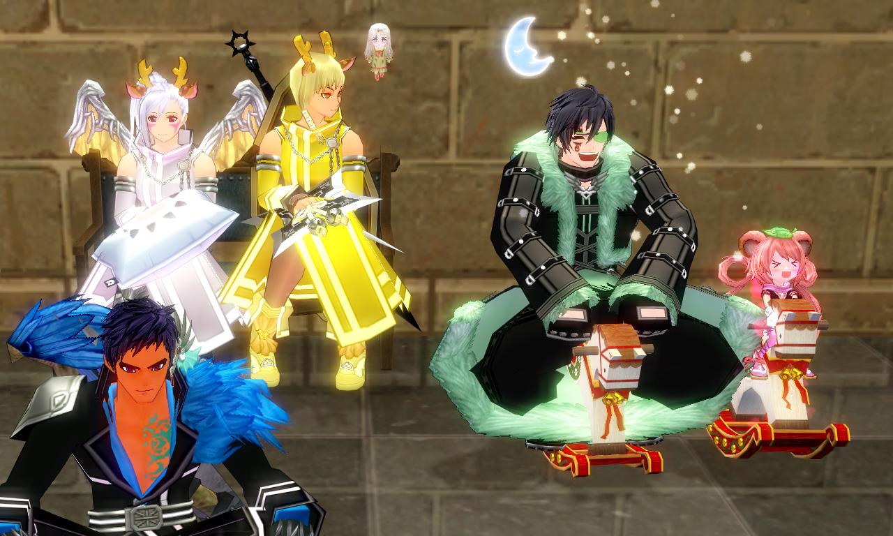 巨躯の王城パーティー3