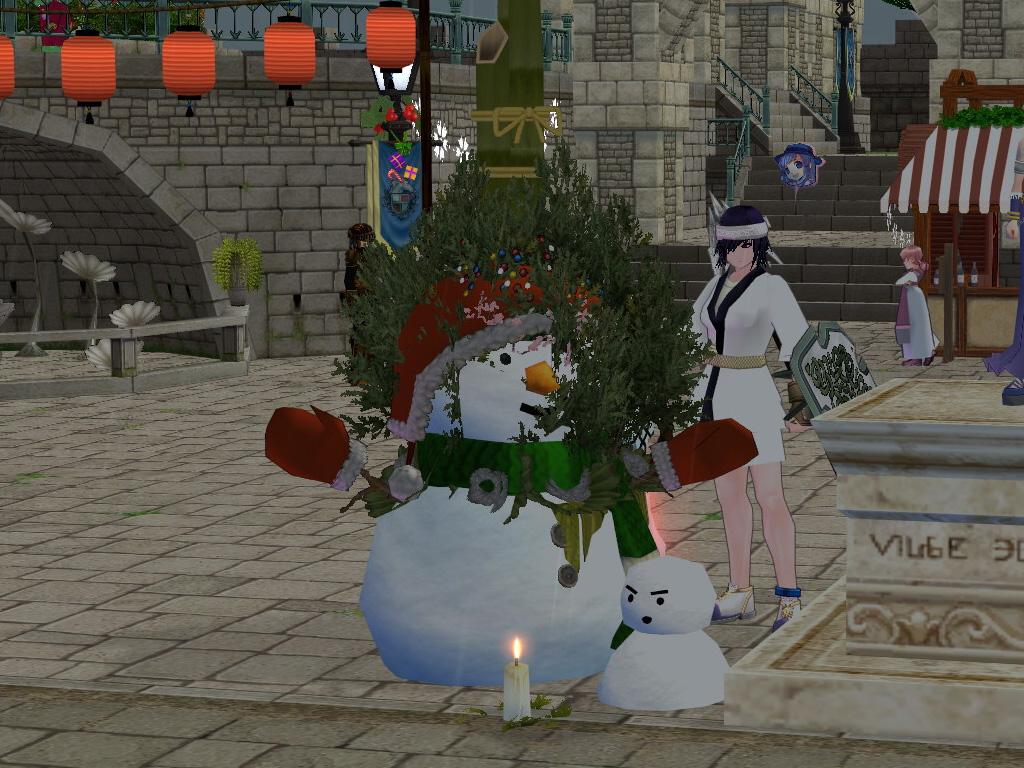 クリスマスと門松