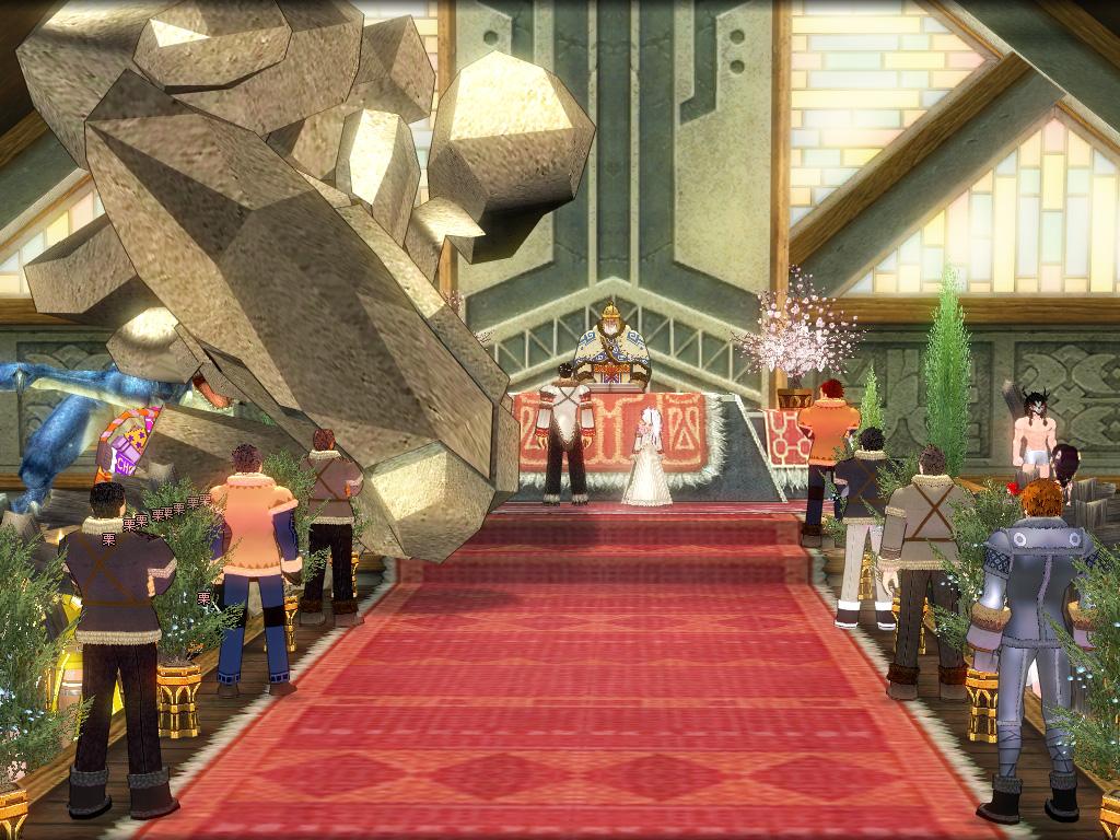 獅子さんとくれかさんの結婚式3