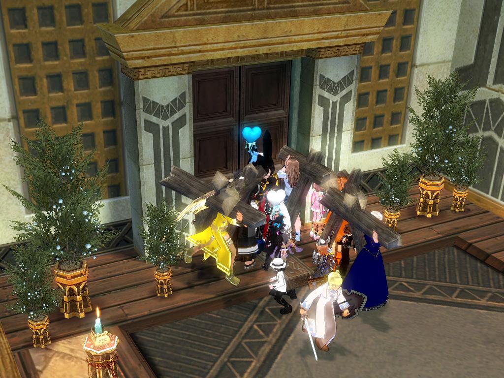 獅子さんとくれかさんの結婚式5