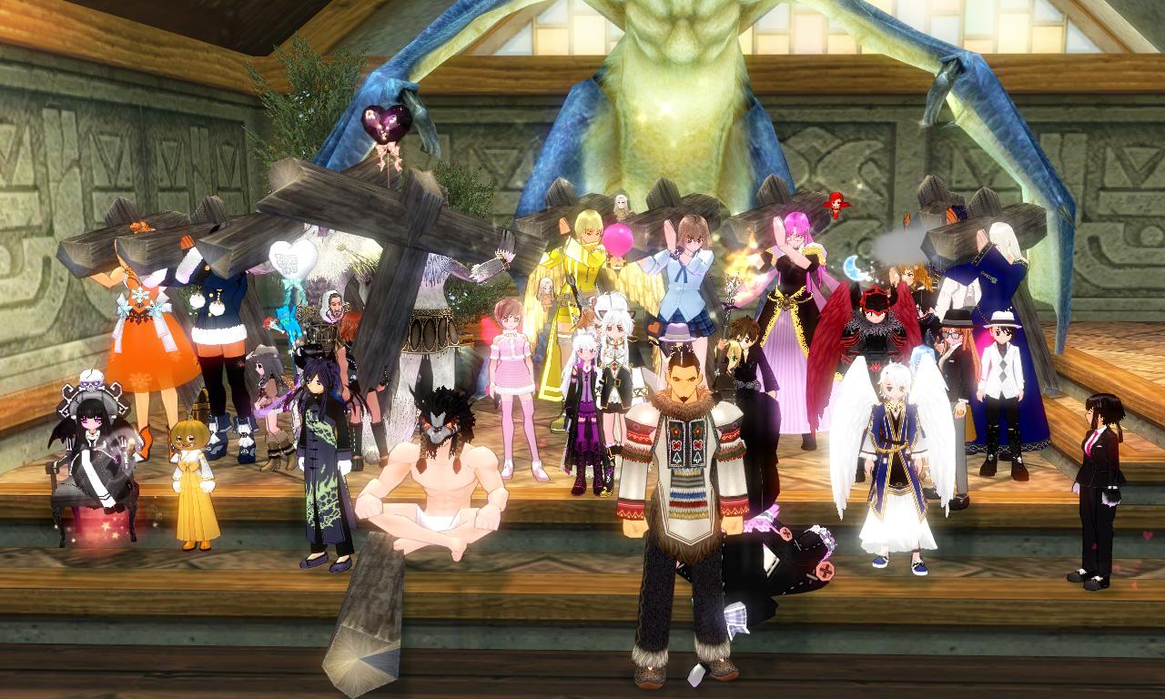 獅子さんとくれかさんの結婚式6