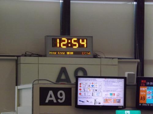 台湾桃園国際空港 搭乗口