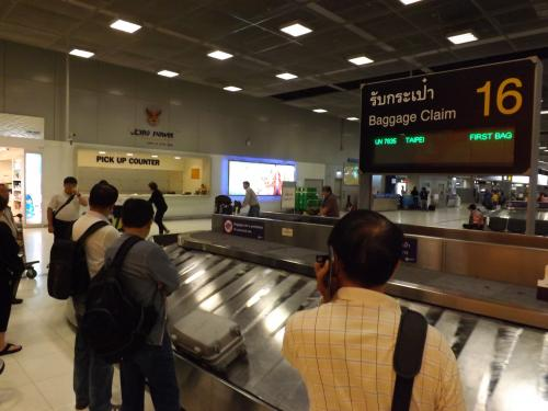 スワンナプーム国際空港 バッゲージ