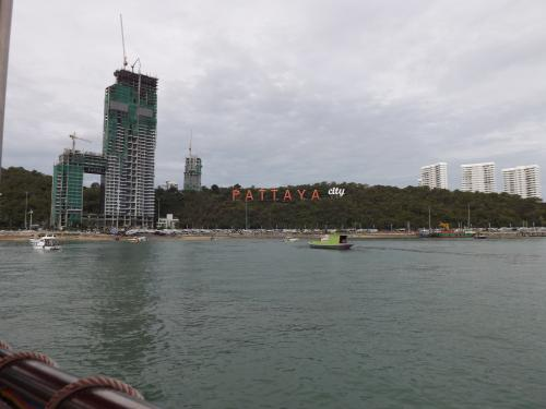 パタヤ港 往き