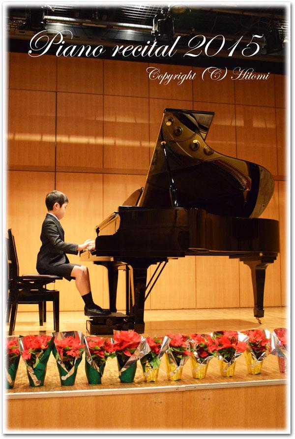 ピアノ発表会☆