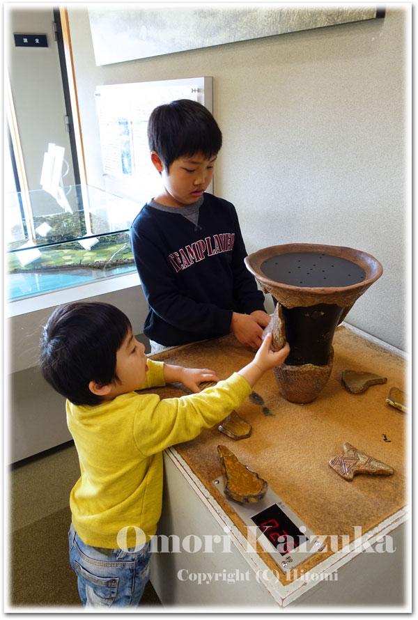 縄文土器パズル