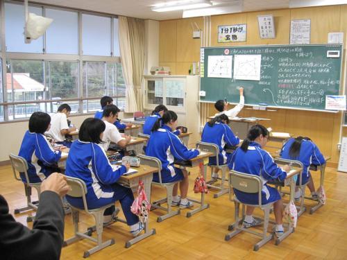 9学年数学授業(27.11.17)
