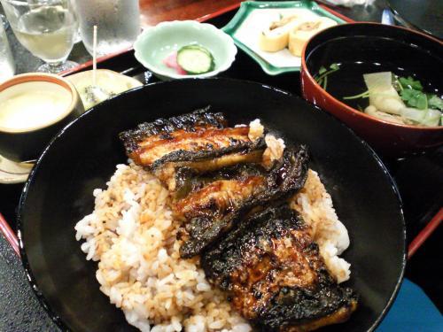 うな丼セット(27.11.17)