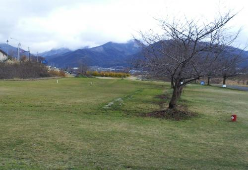 夜間瀬川緑地公園マレットゴルフ場(27.11.28)