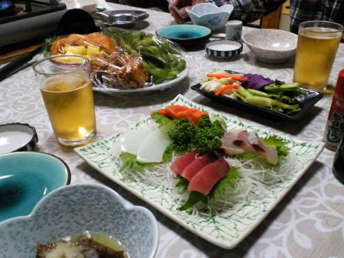 松美食堂で忘年会(27.12.5)