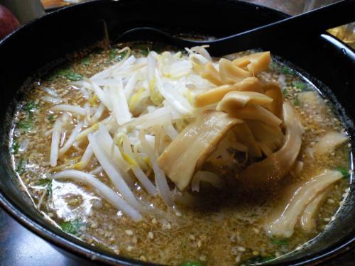 居食亭いつもの味噌ラーメン(28.2.29)