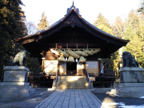 諏訪大社下社秋宮神楽殿(28.2.10)