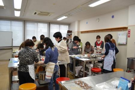 20160123チョコレートまんじゅう・薔薇の練きり①