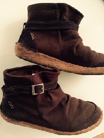 コロンビアの靴