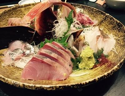 金沢の魚の盛り合わせ