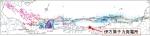 佐田岬半島と中央構造線