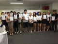 Korean Graduation FEB 2016 1 マッサージスクール アロマスクール オーストラリア