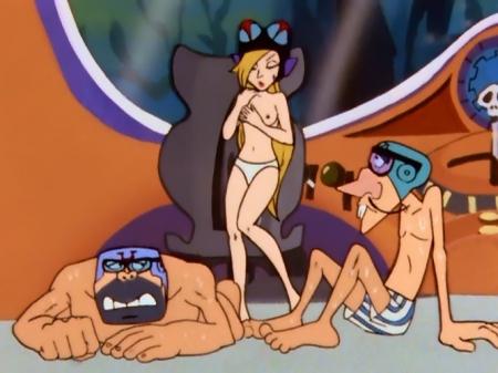 タイムボカン マージョの胸裸ヌードパンツ乳首4