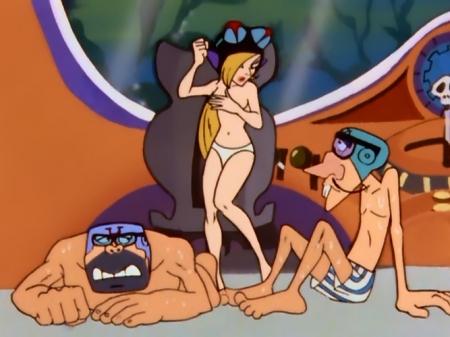 タイムボカン5 マージョの胸裸ヌードパンツ