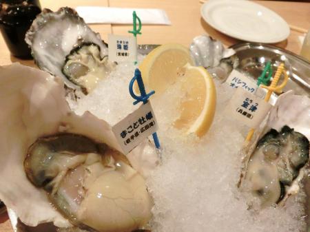 生牡蠣 2015.12