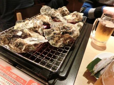 焼き牡蠣 2015.12