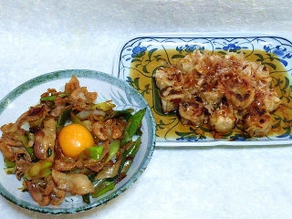 160219_3776豚バラ肉のスタミナ丼・シュウマイの甘酢煮VGA