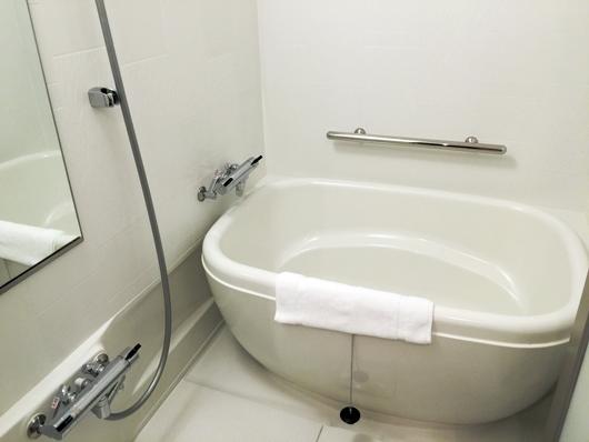 バスルームも綺麗
