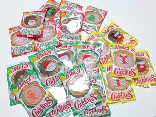 カルディ クリスマスクッキーテトラパック¥399a
