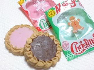 カルディ クリスマスクッキーテトラパック¥399b