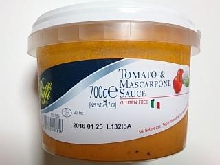 コストコ トマト&マスカルポーネソース700g(イタリア)¥928a