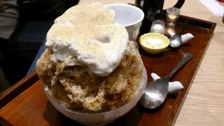 cafe solare Tsumugi黒蜜きなこクリーム¥918