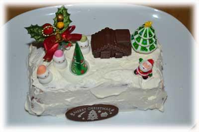 シャルロットクリスマスケーキ