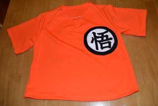 ドラゴンボール風Tシャツ