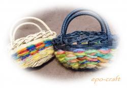 羊毛&かご