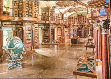 ザンクトガレン図書館